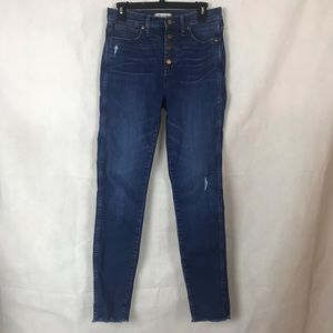 Madewell High-Rise Skinny Jeans Size 28T